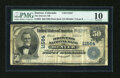 National Bank Notes:Colorado, Denver, CO - $50 1902 Plain Back Fr. 683 The Drovers NB Ch. #11564. ...