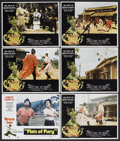 "Movie Posters:Action, Fists of Fury & Other Lot (National General, 1973). Lobby Cards(6) (11"" X 14""). Action.. ... (Total: 6 Items)"