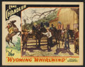 "Movie Posters:Western, Lane Chandler (Various, 1930-32). Lobby Cards (2) (11"" X 14""). Western.. ... (Total: 2 Items)"
