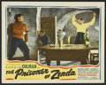 "Movie Posters:Swashbuckler, The Prisoner of Zenda (Casanova-Artlee, R-1940s). Lobby Card (11"" X 14""). Swashbuckler.. ..."