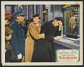 """Movie Posters:Hitchcock, Spellbound (United Artists, 1945). Lobby Card (11"""" X 14"""").Hitchcock.. ..."""