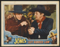 """Movie Posters:Western, Left Handed Law (Universal, 1937). Lobby Cards (2) (11"""" X 14""""). Western.. ... (Total: 2 Items)"""