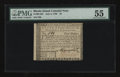 Colonial Notes:Rhode Island, Rhode Island July 2, 1780 $4 PMG About Uncirculated 55....