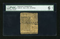 Colonial Notes:Delaware, Delaware May 1, 1756 20s PMG Good 6 Net....