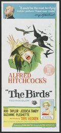 "Movie Posters:Hitchcock, The Birds (Universal International, 1963). Australian Daybill (13"" X 30""). Hitchcock.. ..."
