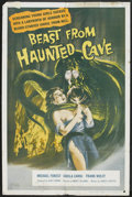 """Movie Posters:Science Fiction, Beast from Haunted Cave (Film Group, 1959). One Sheet (27"""" X 41"""").Science Fiction.. ..."""