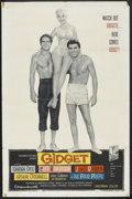 "Movie Posters:Comedy, Gidget (Columbia, 1959). One Sheet (27"" X 41""). Comedy.. ..."