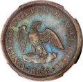 Patterns, 1836 P2C Two Cents, Judd-54, Pollock-57, Low R.6, PR64 BrownNGC....