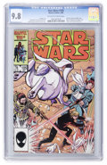 Modern Age (1980-Present):Science Fiction, Star Wars #105 (Marvel, 1986) CGC NM/MT 9.8 Off-white to whitepages....