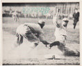 "Autographs:Photos, Circa 1961 Ty Cobb Signed ""Spiking of Home Run Baker"" Photograph. ..."