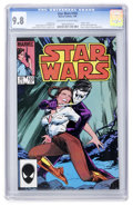 Modern Age (1980-Present):Science Fiction, Star Wars #103 (Marvel, 1986) CGC NM/MT 9.8 Off-white to whitepages....