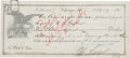 Autographs:Others, 1917 Charles Weeghman Signed Chicago Cubs Promissory Note....