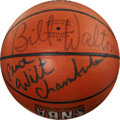 Basketball Collectibles:Balls, Early 1990's NBA Legends Signed Basketball from ShaquilleO'Neal....