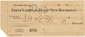 Autographs:Checks, 1936 Lou Gehrig Signed Check for World Series Tickets....