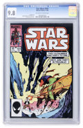 Modern Age (1980-Present):Science Fiction, Star Wars #101 (Marvel, 1985) CGC NM/MT 9.8 Off-white to whitepages....