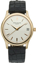 Timepieces:Wristwatch, Patek Philippe Men's Ref. 3998 Rose Gold Automatic Wristwatch,circa 2000. ...