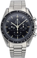 "Timepieces:Wristwatch, Omega Early Speedmaster Professional Cal. 861 ""Moon"" Watch, circa 1970. ..."