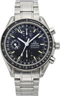 Timepieces:Wristwatch, Omega Speedmaster Triple Date Automatic Chronograph, circa 1990's....
