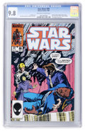 Modern Age (1980-Present):Science Fiction, Star Wars #99 (Marvel, 1985) CGC NM/MT 9.8 Off-white to white pages....