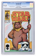 Modern Age (1980-Present):Science Fiction, Star Wars #94 (Marvel, 1985) CGC NM/MT 9.8 Off-white to whitepages....