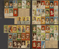 Baseball Cards:Lots, 1909-1912 T205, T206 and T207 Baseball Laminated Collection (96)....