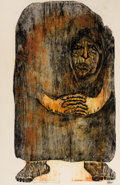 Latin American:Contemporary, OLGA BLINDER . (Paraguayan, 1933-2008). Figura, 1968.Engraving on paper. 31 x 20 inches (78.7 x 50.8 cm). Titled andnu...