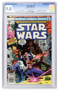 Star Wars #7 (Marvel, 1978) CGC NM/MT 9.8 Off-white to white pages