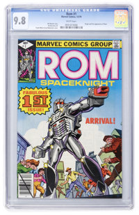 Rom #1 (Marvel, 1979) CGC NM/MT 9.8 White pages