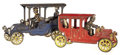 Antiques:Toys, Pair of Kenton Cast Iron Cars.... (Total: 2 Items)