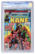 Bronze Age (1970-1979):Adventure, Marvel Premiere #33 Mark of Kane (Marvel, 1976) CGC NM/MT 9.8 Off-white to white pages....