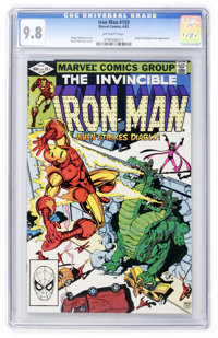 Iron Man #159 (Marvel, 1982) CGC NM/MT 9.8 Off-white pages