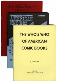 Who's Who of American Comic Books #1-4 Group (Jerry Bails, 1973-76).... (Total: 4 Comic Books)