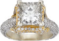 Estate Jewelry:Rings, Diamond, Twotone Gold Ring. ...
