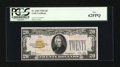 Small Size:Gold Certificates, Fr. 2402 $20 1928 Gold Certificate. PCGS New 62PPQ.. ...