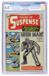Tales of Suspense #39 (Marvel, 1963) CGC FN 6.0 Off-white pages
