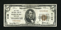 National Bank Notes:Maryland, Frostburg, MD - $5 1929 Ty. 1 The First NB Ch. # 4149. ...