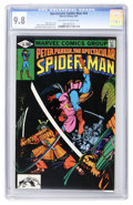 Modern Age (1980-Present):Superhero, Spectacular Spider-Man #54 (Marvel, 1981) CGC NM/MT 9.8 Off-whiteto white pages....