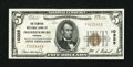 National Bank Notes:Virginia, Fredericksburg, VA - $5 1929 Ty. 1 The Planters NB Ch. # 10325. ...