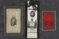 Political:Ribbons & Badges, Nineteenth Century Political Ribbons: A Display of Three....