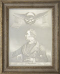 Political:3D & Other Display (pre-1896), Zachary Taylor: A Rare and Sought After Lithopane Portrait....