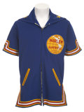 Basketball Collectibles:Uniforms, Late 1970's Geese Ausbie Game Worn Warm-Up Jacket....
