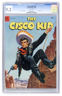 The Cisco Kid #20 (Dell, 1954) CGC NM- 9.2 White pages