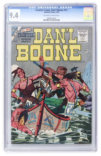 Frontier Scout: Dan'l Boone #11 (Charlton, 1956) CGC NM 9.4 Off-white to white pages