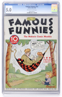 Famous Funnies #13 (Eastern Color, 1935) CGC VG/FN 5.0 Off-white to white pages