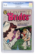 Golden Age (1938-1955):Romance, True Brides' Experiences #15 File Copy (Harvey, 1955) CGC NM 9.4Cream to off-white pages....
