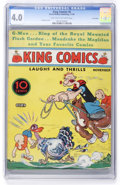 Platinum Age (1897-1937):Miscellaneous, King Comics #8 Lost Valley pedigree (David McKay Publications,1936) CGC VG 4.0 Light tan to off-white pages....