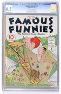 Golden Age (1938-1955):Miscellaneous, Famous Funnies #25 (Eastern Color, 1936) CGC FN+ 6.5 Off-white to white pages....