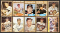 Baseball Cards:Autographs, 1962 Topps Baseball Signed Collection of (249 Different) Including Maris. ...