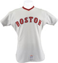 Baseball Collectibles:Uniforms, 1972 Luis Tiant Game Worn Jersey....