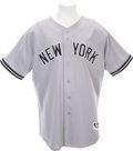 Baseball Collectibles:Uniforms, 2005 Hideki Matsui Game Worn Jersey....